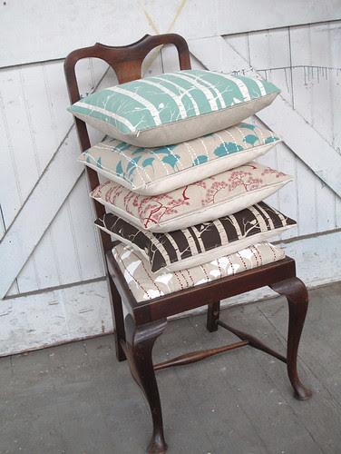 cushions - blog fodder