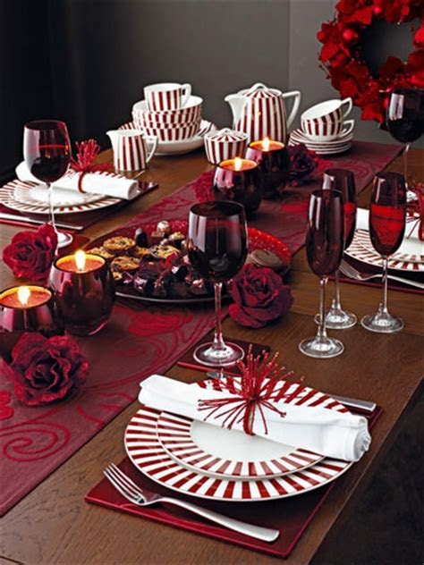 Christmas table decorations: Red   Life and style   The