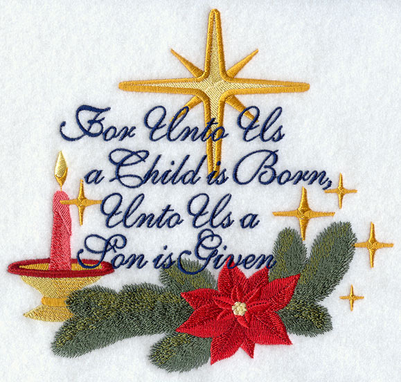Image result for for unto us a child is born