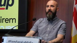 El regidor de la CUP a Barcelona Josep Garganté, en una imatge d'arxiu (ACN)