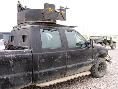 Iraque pickup pós-apocalíptica