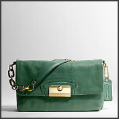 Coach Kristin Shoulder Flap Handbag