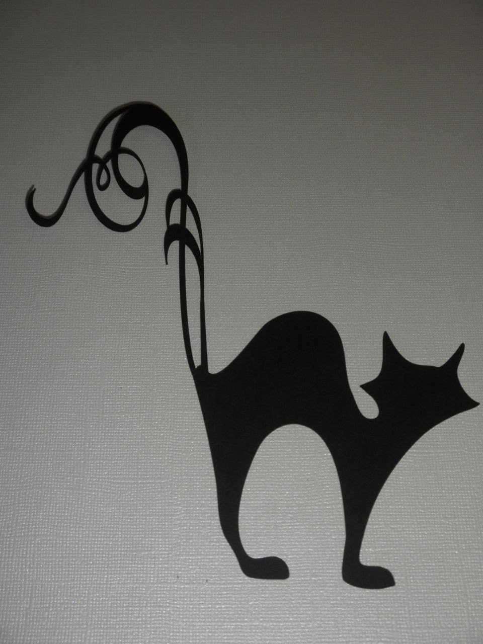 Black Cat Scroll - niklindesigns1225