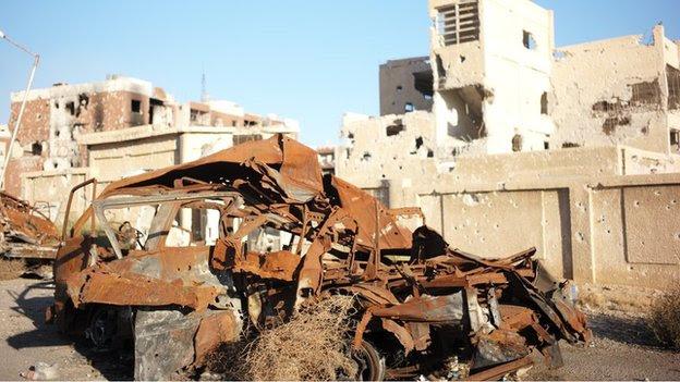 Adra damage, Damascus, 11 November 2014