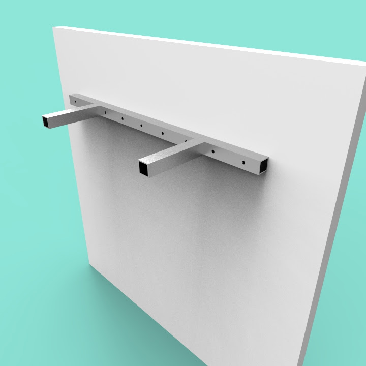 Floating Shelves Seamless Custom Metal Home