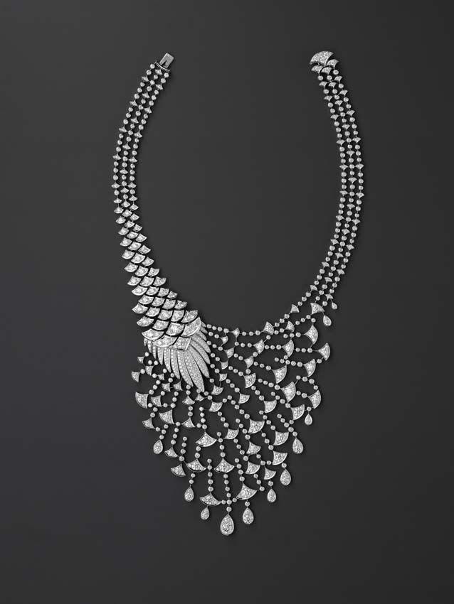 Cartier diamond necklace. Stunning Design