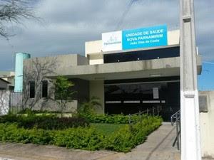 Posto de saúde foi assaltado e funcionários e pacientes ficaram trancados por 3h (Foto: Camila Torres/Inter TV Cabugi)
