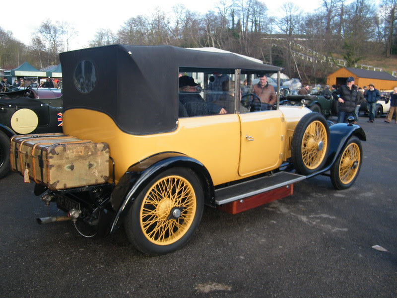 Brooklands New Year's Day 2013 - 1924 Bentley 3 litre Tourer