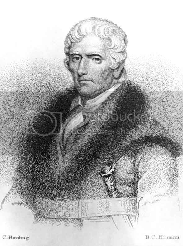 frontiersman and hunter Daniel Boone
