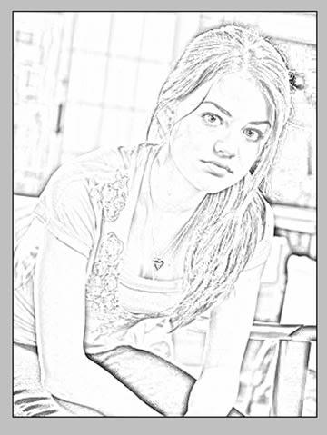 Efecto De Dibujo A Lapiz Sobre Una Foto En Photoshop