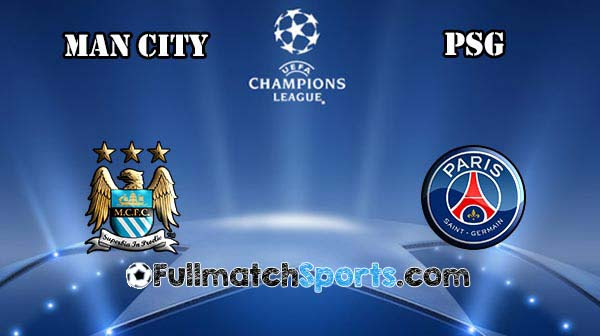 FULL MATCH Manchester City vs PSG UCL 2016