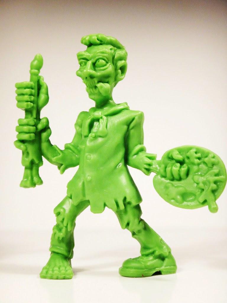 S.L.U.G. Zombie Jakks Pacific Decomposing Dan Series 4