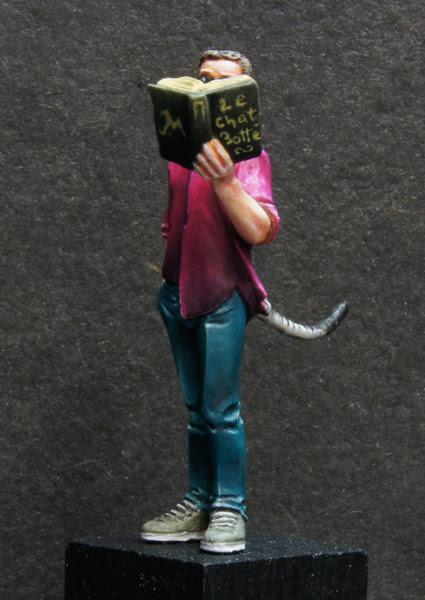 Retour - Figurine sculpée par Maxime Girardot et peinte par David Petit