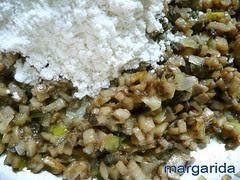champiñones con harina