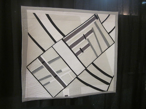 """""""The Eternal City"""" by Kate Stiassni, quilted by Jacki Kunkel of NY, NY"""