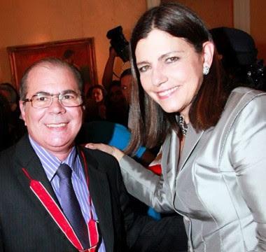 Ex-secretário Hildo Rocha e a governadora Roseana Sarney