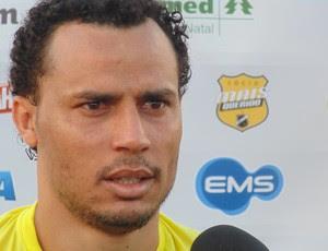 Gilmar - atacante do ABC (Foto: Carlos Arthur da Cruz/Globoesporte.com)