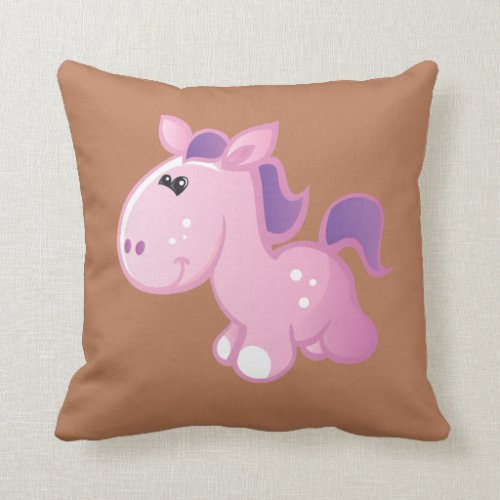 Cute Pony Pillow
