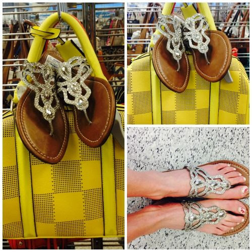 Sparkle Flat Sandals at Ross Dress for Less