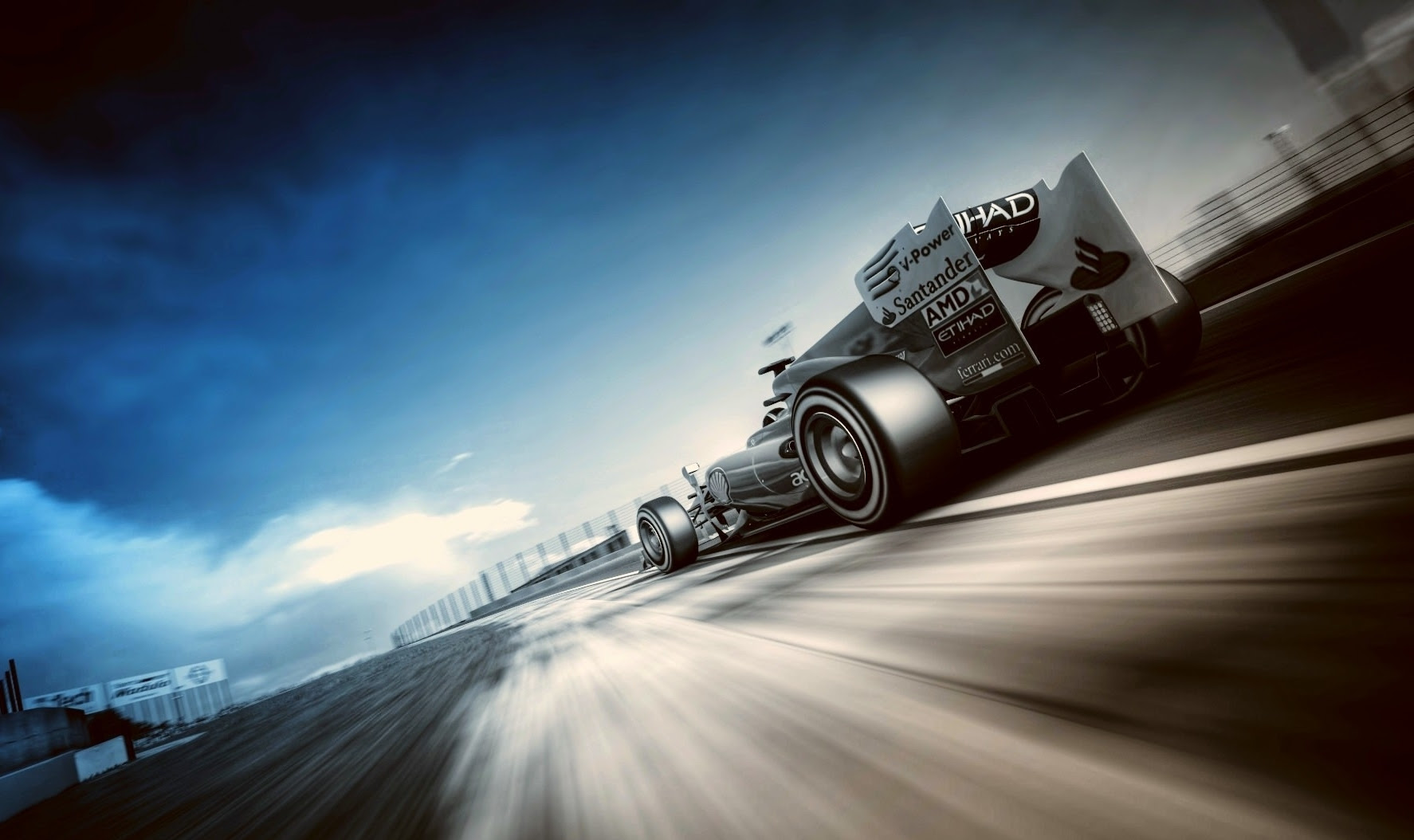 Track Formula 1 Hd Wallpaper Wallpapers Comp