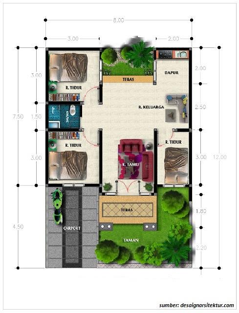 4700 Koleksi Gambar Rumah 8 X 12 HD Terbaru