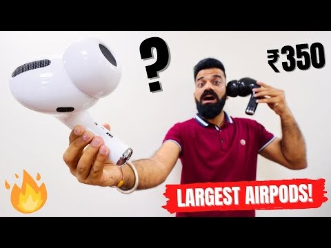 World's Largest AirPods Pro Under ₹500🔥🔥🔥