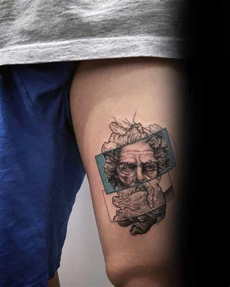 coolest small tattoos men manly mini design ideas