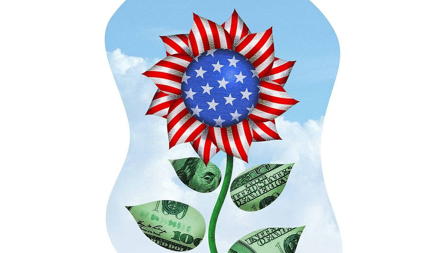 American Economic Growth Illustration by Greg Groesch/The Washington Times