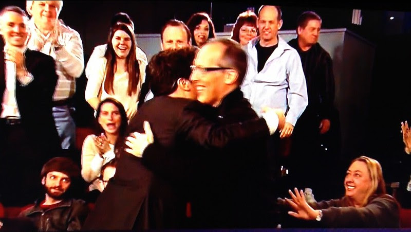Late Night with Jimmy Fallon Closing Credits: Jimmy Fallon runs into the audience and finds me. ;-)