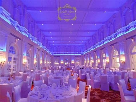 Grand Ballroom banquet hall at the Galle Face Hotel