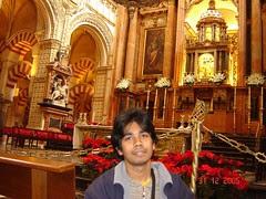 Percampuran Achitecture Muslim & Kristian Dalam Mezquita, Cordoba, Spain