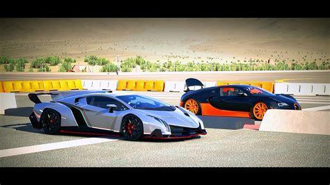 Lamborghini Veneno Vs Bugatti Veyron   image #200