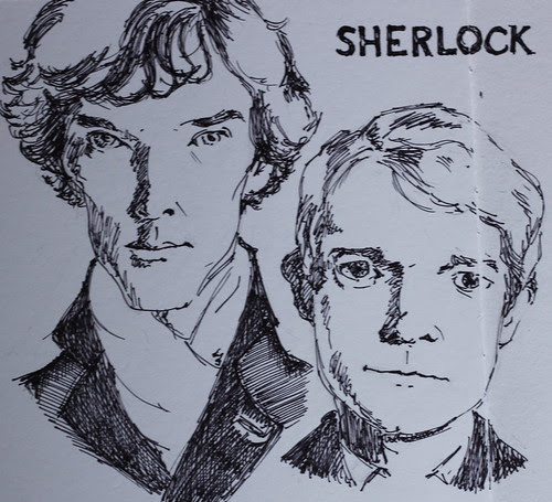 Sherlock by teshionx