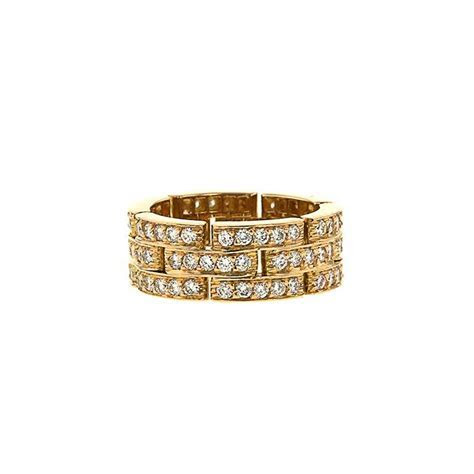 Cartier Maillon Panthère Ring 336425   Collector Square