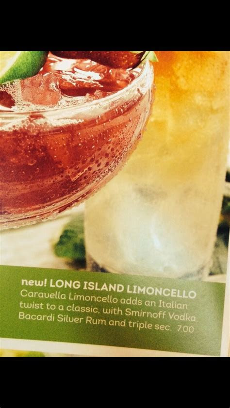 olive garden long island limoncello party drinks