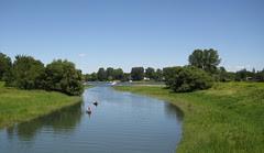 Parc de Boucherville, Chenal la Passe from the bridge