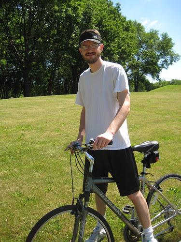 Craig and bike