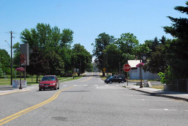 SR 124 @ US 12 eastward