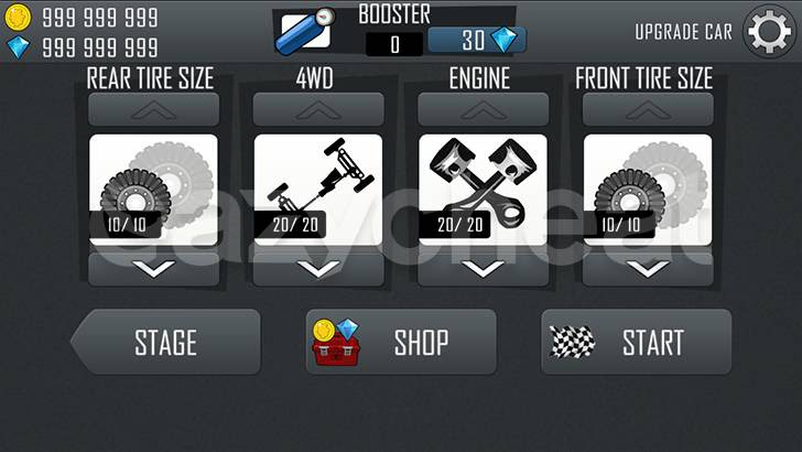 Hill Climb Racing Unlimited Gems Coins