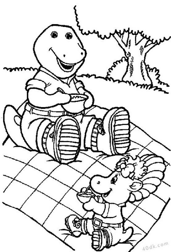 40dkcom Dinozorlar Boyama Sayfası 536 40dk Eğitim Bilim