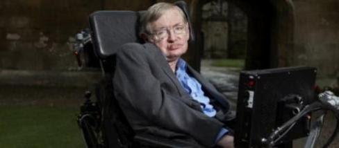 Fizicianul englez Stepehn Hawking