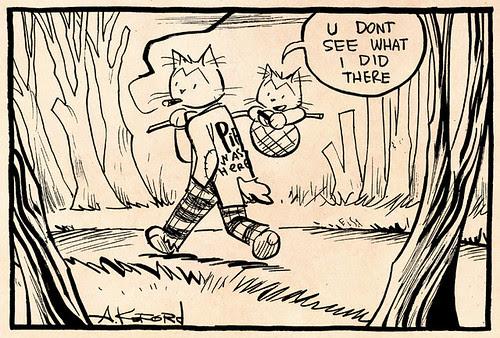 Laugh-Out-Loud Cats #2207 by Ape Lad
