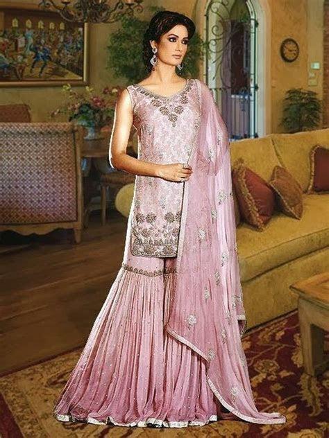 Latest Stylish Bridal Sharara Designs For Bride   Dress