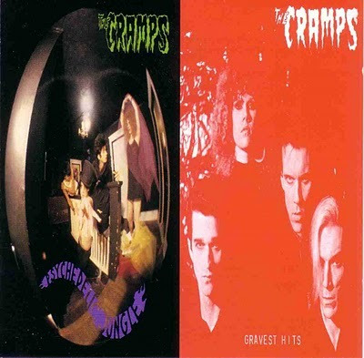 The Cramps - Psychedelic Jungle / Gravest Hits Released 1989. Track listing
