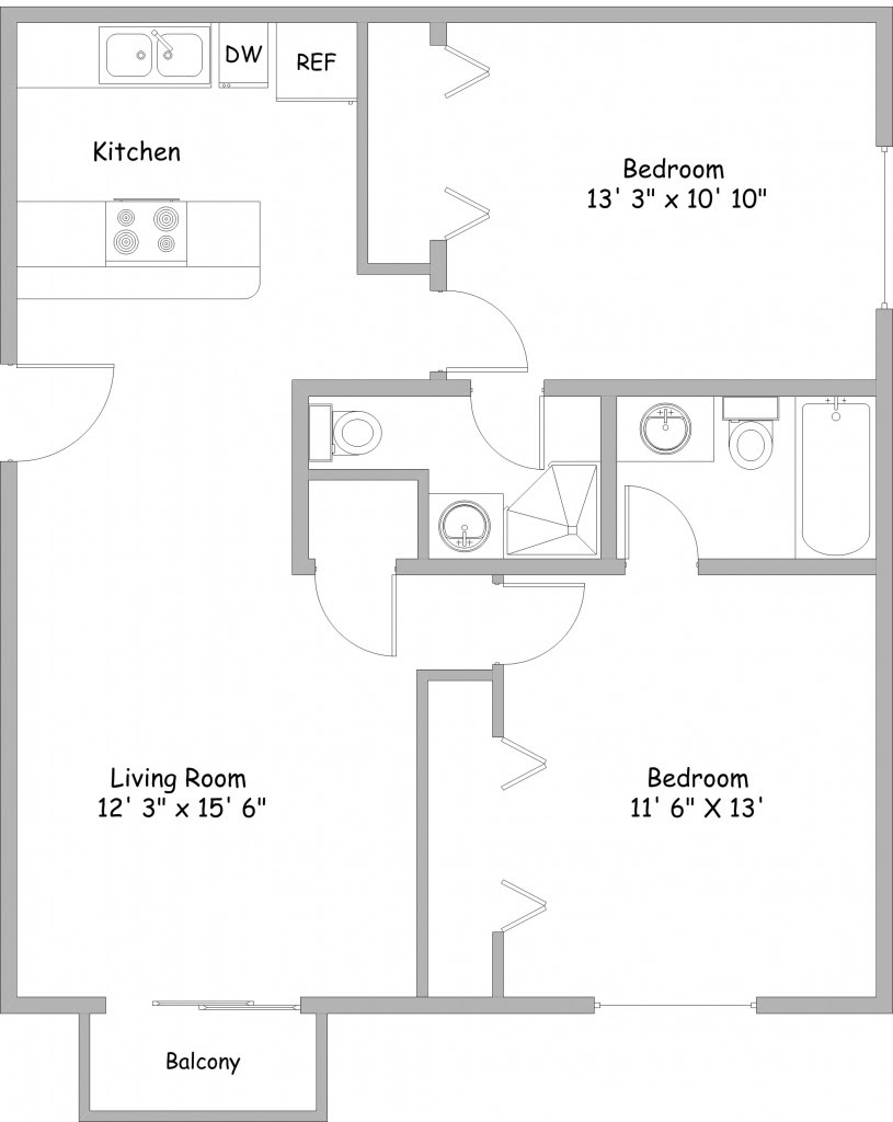 20 Perfect Images 2 Bedroom Unit Floor Plans - Home ...