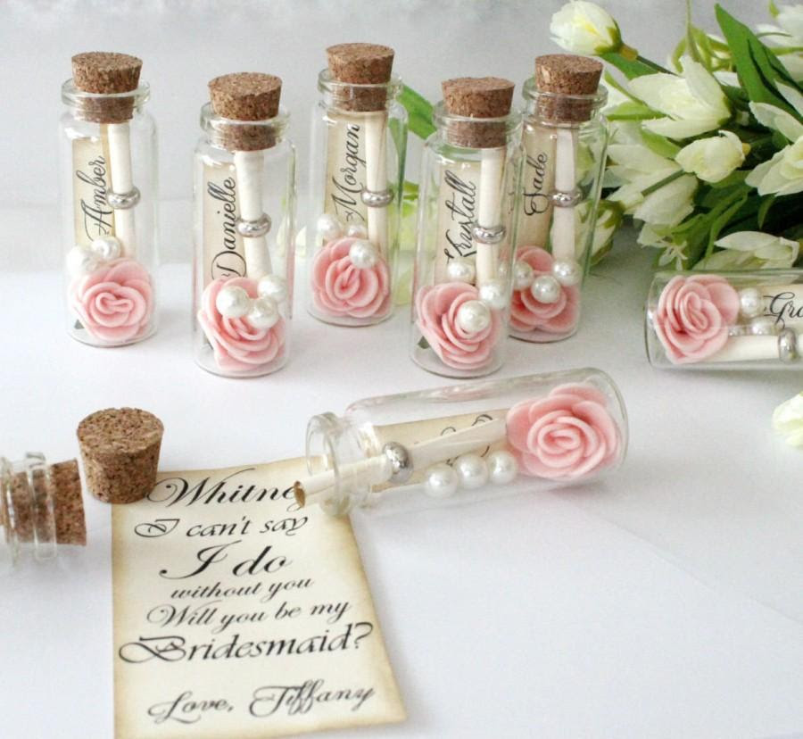 Will You Be My Bridesmaid Message In A Bottle Bridesmaid Cute