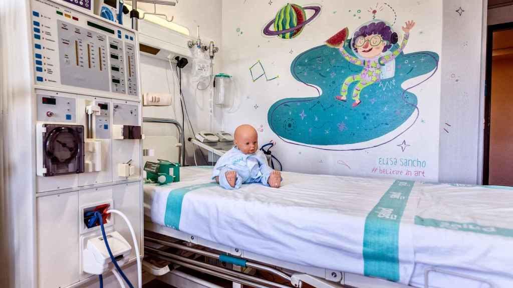 Hospital esperanza, donde el arte devuelve la vida a los niños enfermos