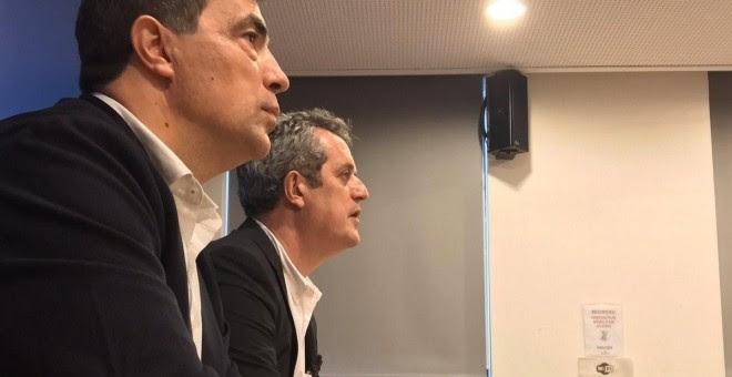 El director de los Mossos, Pere Soler, y el conseller de Interior de la Generalitat, Joaquim Forn. /EUROPA PRESS