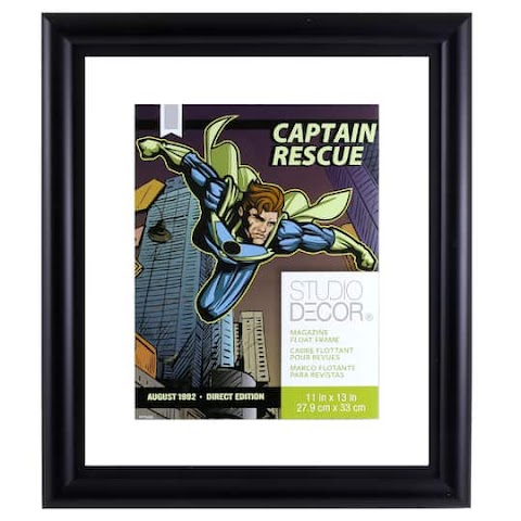 Studio Decor Comic Book Float Frame