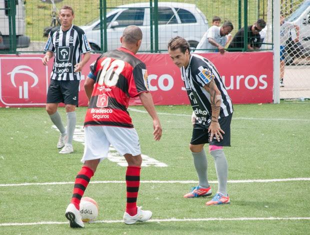 Flamengo Botafogo Showbol (Foto: Luiz Carlos Quadro Junior)